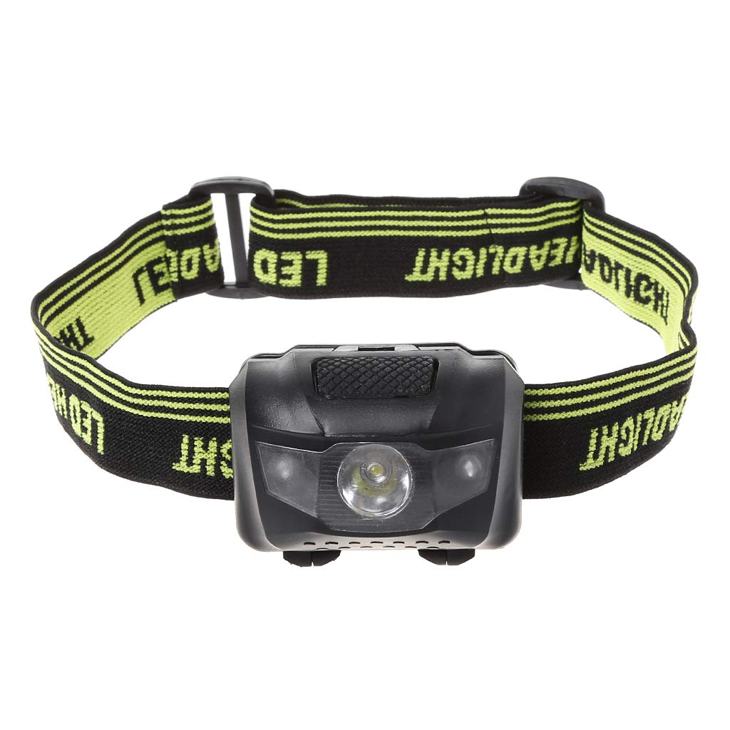 MM456 LED Head Torch, OMERIL Lightweight COB Headlamp with 3 Modes, IPX4 Waterproof, Super Bright 150 Lumens LED Headlight for Kids&Adults, Running, Fishing, Camping, Hiking, DIY[3*AAA Batteries Included]