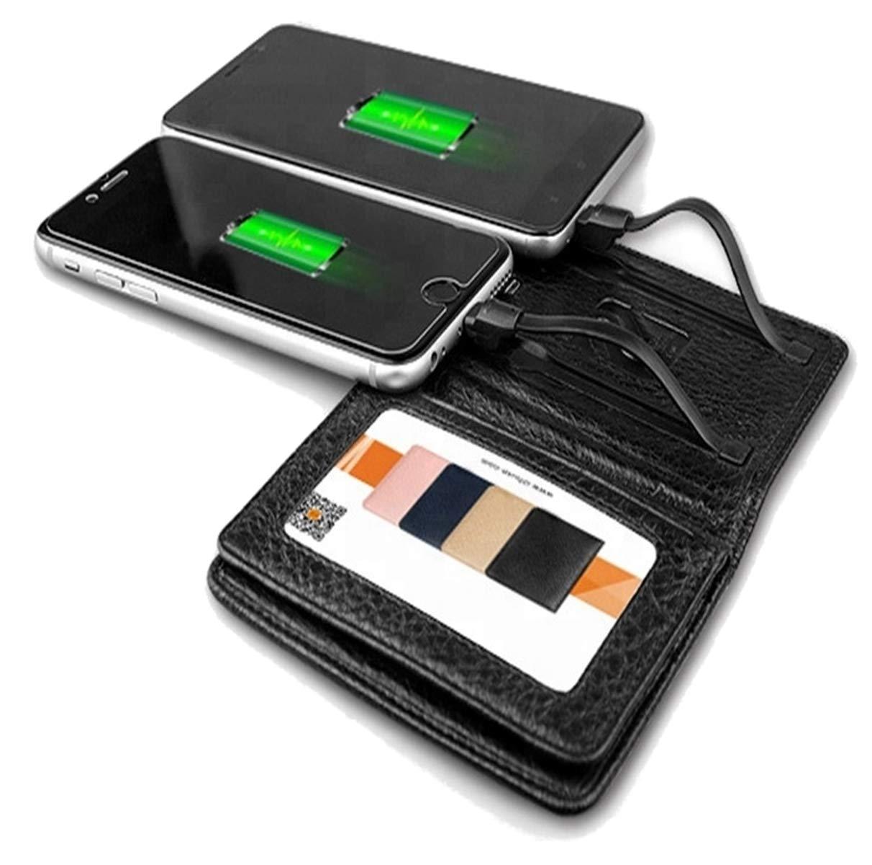 Power Bank 4000 mAh con tarjetero piel RFID y NFC - Cargador ...