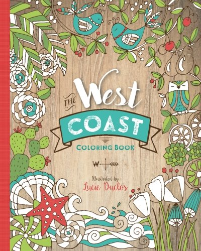 Read Online The West Coast Coloring Book pdf epub