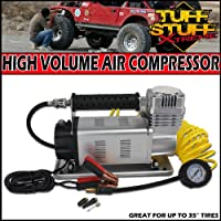 """Tuff Stuff Xtreme Portable Air Compressor 150psi High Volume- 35"""" and Larger Tires"""