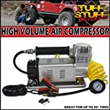 Tuff Stuff Xtreme Portable Air Compressor 150psi High Volume- 35'' and Larger Tires