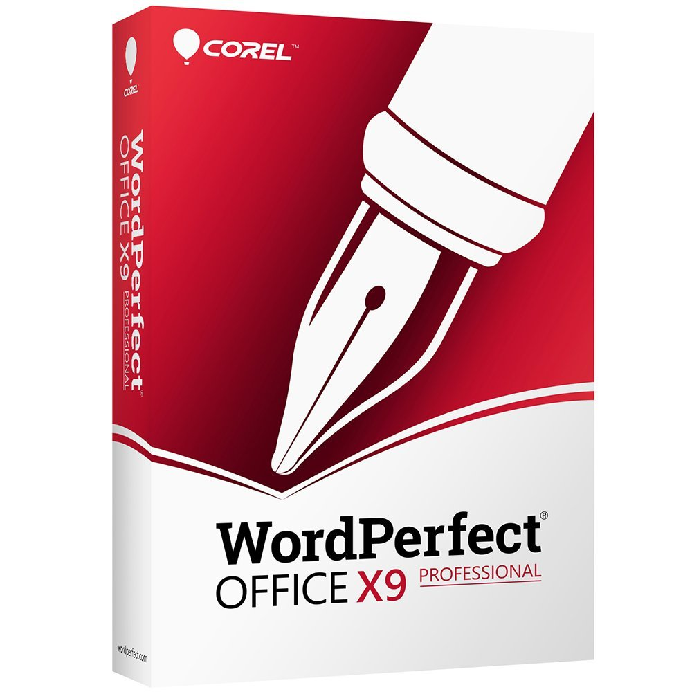 Corel Wordperfect Office X9 All-in-One Office Suite - Professional Edition [PC Disc] by Corel