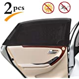 1 Pair Universal Fit Car Side Window Sun Shade for Baby and Kids