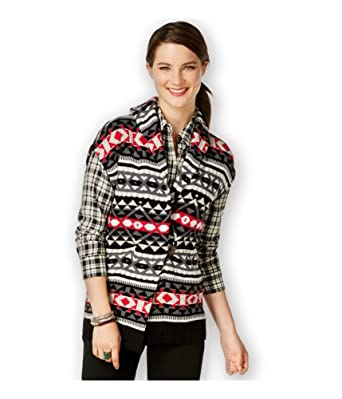 314ba3920e58 American Living Womens Fair-Isle-Print Sweater Vest at Amazon ...