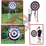 ZUMZ NEW GARDEN GIANT ARCHERY GAME SET TOY FOR FAMILY KIDS ADULTS HOME PICNIC PARTY GAMES by ZUMZ