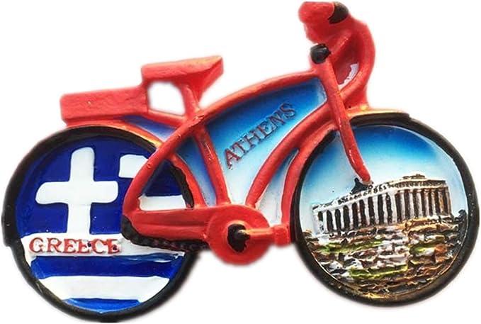Weekino Souvenir Bicicleta Acrópolis Atenas Grecia Imán de Nevera ...