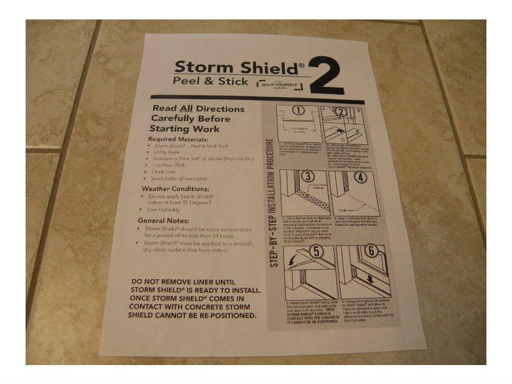 SELF ADHESIVE! Heavy Duty Garage Door Weather Seal Threshold Bottom Seal-16