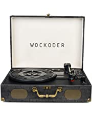 Turntable Record Player Classic Suitcase Record Vinyl Turntable Player LP,Wireless,USB/SD Play,Built-in Speakers,Unique Design Portable Turntable Player