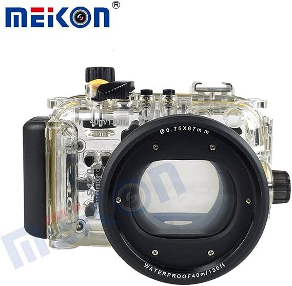 Funda resistente al agua para cámara bajo el agua Canon PowerShot S120 Cámara: Amazon.es: Electrónica