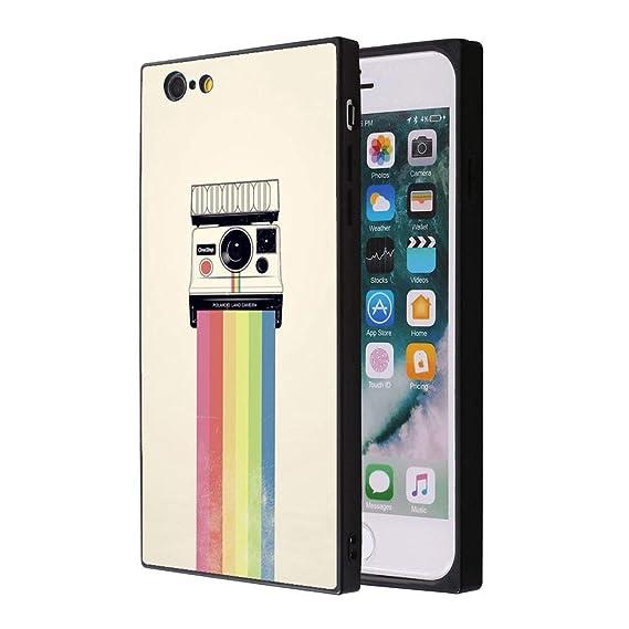the best attitude 50381 184d8 Amazon.com: iPhone 6s Plus 6 Plus Rainbow Polaroid Case, Soft ...