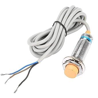 Ljc18a3-b-z/Ax Sensor de Proximidad Capacitiva Interruptor 3 Cables Npn Nc detector Industrial