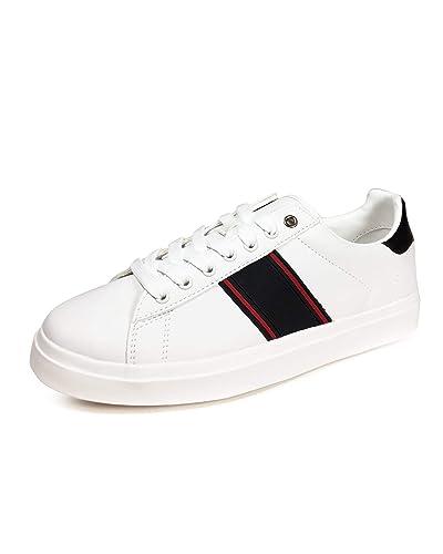 4f1babbcce20e Zara Men's Plimsolls with Side Stripes 5379/302: Amazon.co.uk: Shoes ...