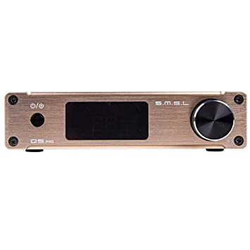 SMSL Q5 Pro HiFi integrados Mini Digital Amplifier Stereo Audio Amplificador 45 WPC Pure Digital Amplificador
