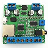 4 Buttons Triggered MP3 Player Board with 10W Review and Comparison