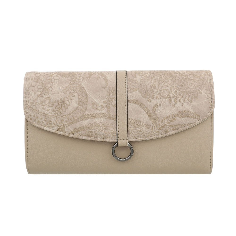 Ital-Design Damentasche Kleine Clutch Abendtasche Schultertasche Kunstleder TA-FLD9380