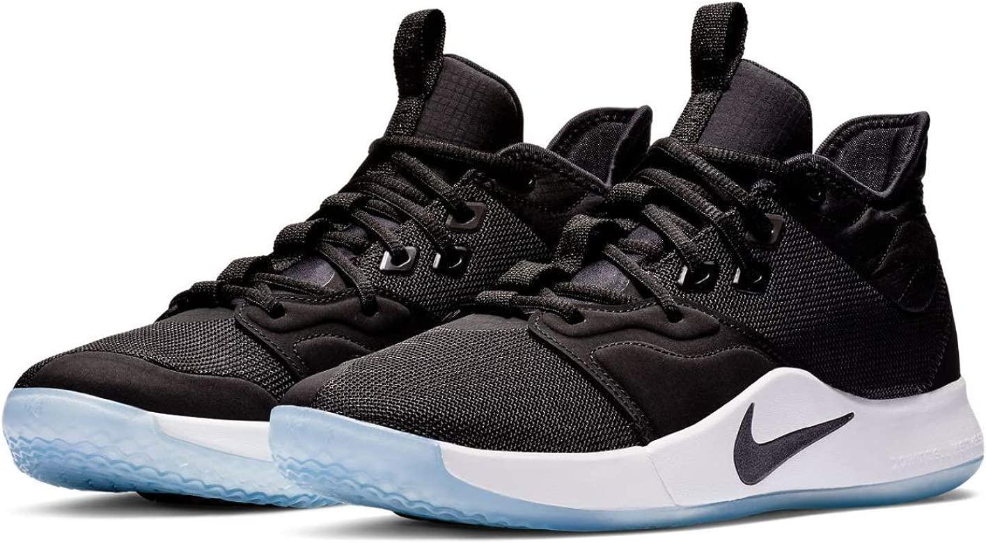 Men's PG 3 Basketball Shoes, BlackBlackWhite