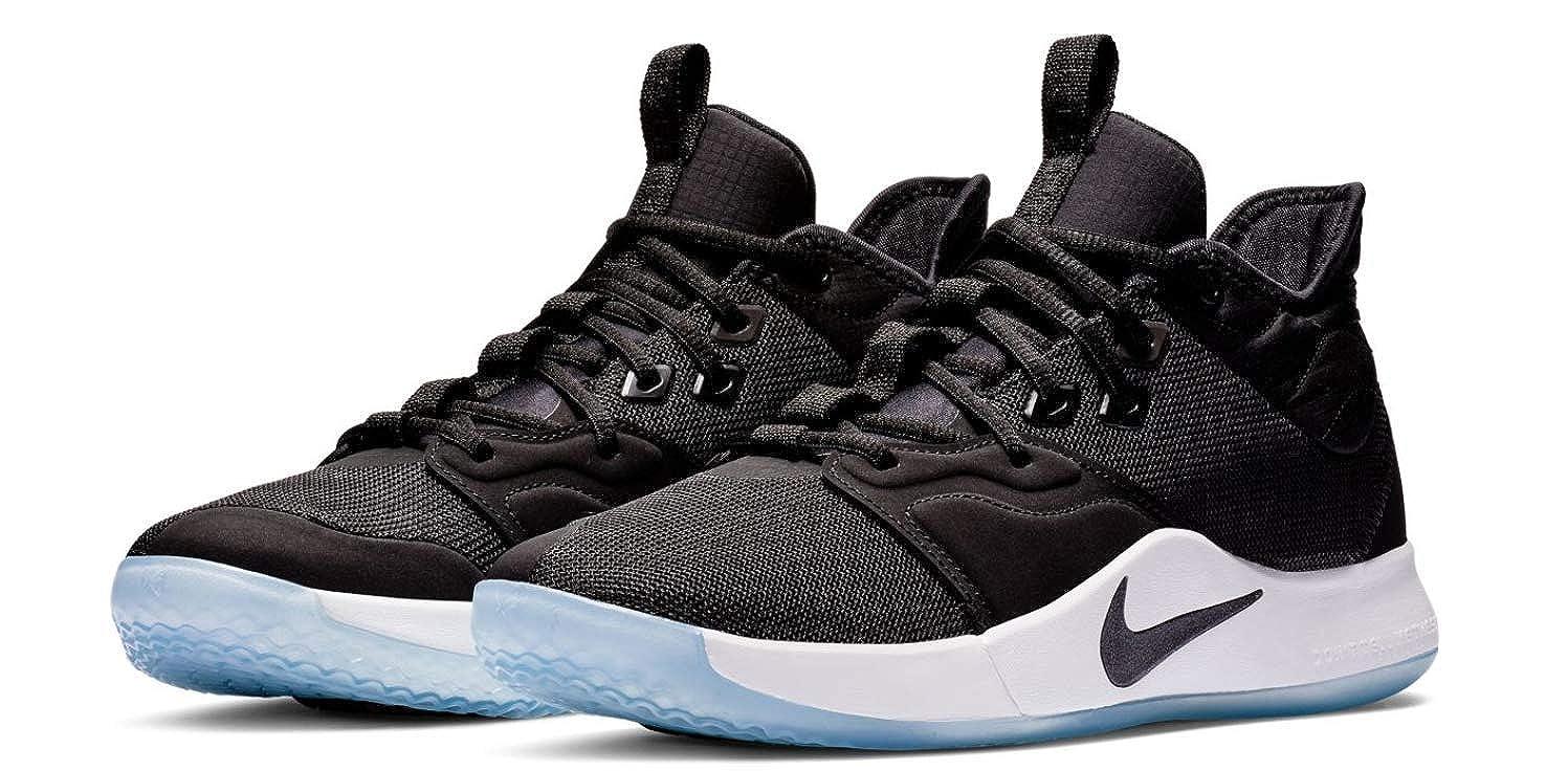 huge discount 65a4b 4cb4e Amazon.com   Nike Men s PG 3 Basketball Shoes, Black Black White    Basketball