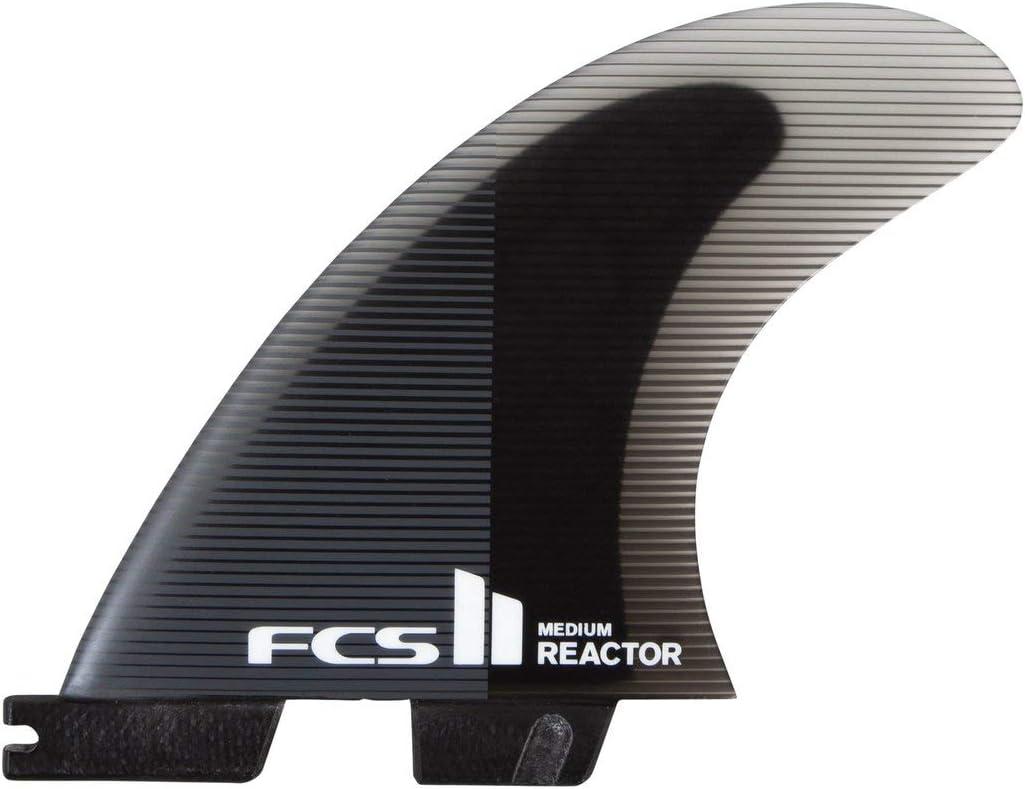 FCS II Reactor Performance Core Tri Fin Set - Charcoal/Black