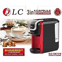 DLC 3 IN 1 CAPSULE COFFEE MACHUNE/DLC 3 in 1 الة كبسولات القهوة
