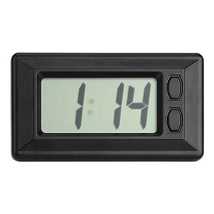 Accesorios de interior para coche con pantalla digital reloj adorno de coche