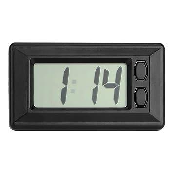 Accesorios de interior para coche con pantalla digital reloj adorno de coche: Amazon.es: Coche y moto
