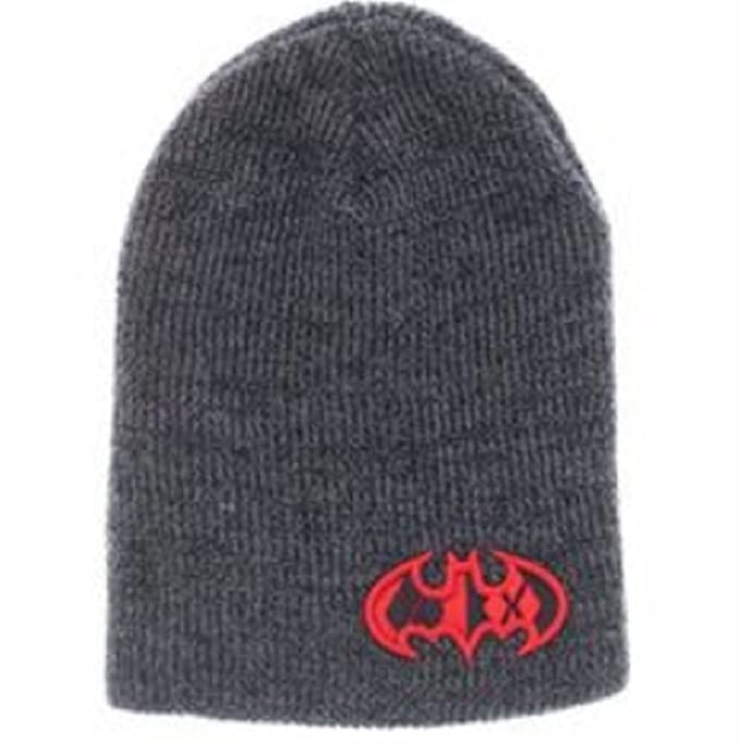 32246655739 Image Unavailable. Image not available for. Color  DC Comics Harley Quinn  Bat Wing Logo Skull Cap Slouch Beanie