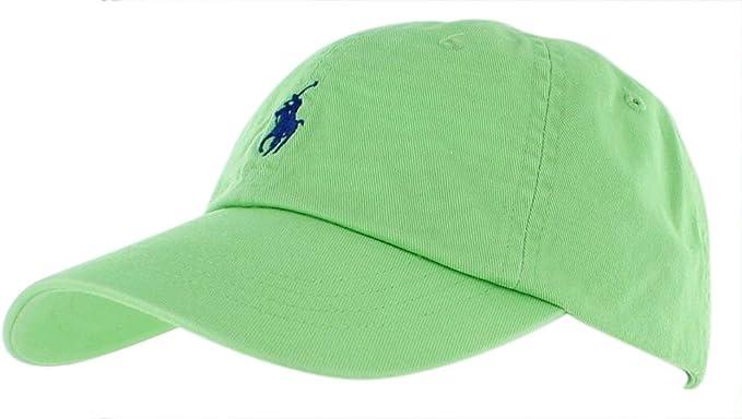 Ralph Lauren Polo Hombres Pony – Logo – Gorra Ajustable Sombrero ...