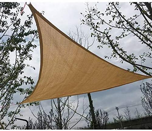 ArgoBa Sombra Solar Triángulo Toldo Patio Patio Toldo Jardín Refugio UV Toldo Exterior de triángulo Toldo Duradero: Amazon.es: Jardín