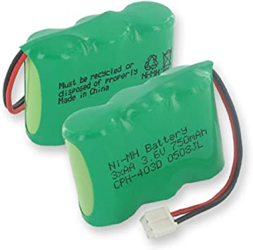 Batería de Teléfono inalámbrico para VTech t2453: Amazon.es: Bricolaje y herramientas