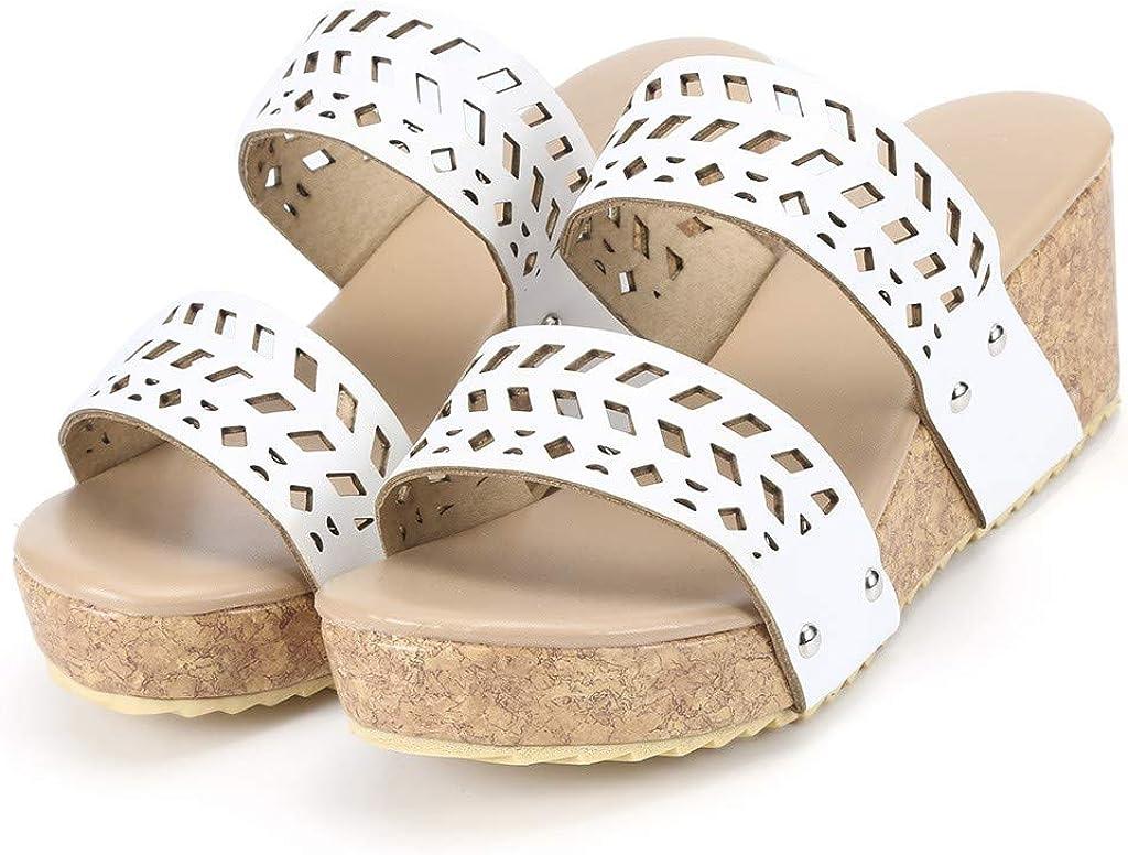 Aribelly Women\'S Flatform Universal Sandal