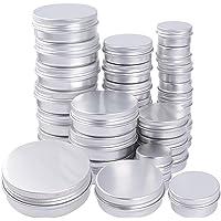 30pcs Latas de Aluminio Vacías (15ml, 30ml, 60ml)