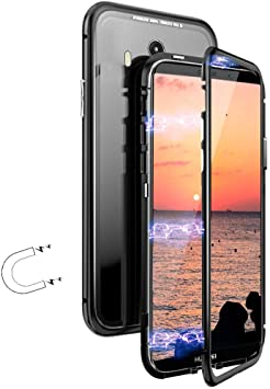 Funda Huawei Honor 8X, [Adsorción Magnética] Marco de Metal ...