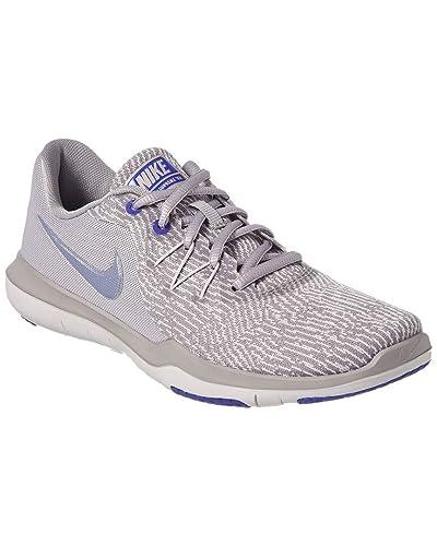 Nike Women S Flex Supreme Tr 6 Atmosphere Grey Purple Slate Vast Training Shoes