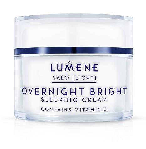 Crema de dormir brillante con vitamina C de 50 ml de VALO [LIGHT] de
