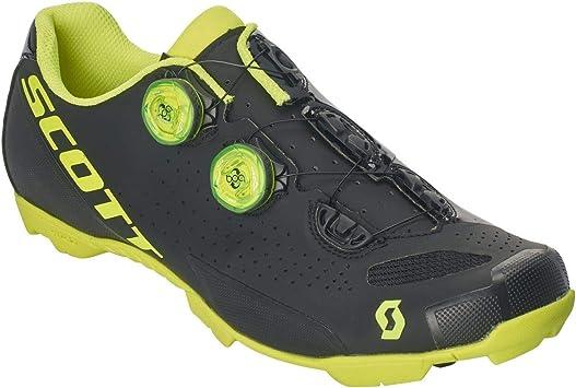 Scott MTB RC 2019 - Zapatillas para Bicicleta, Color Negro y Amarillo