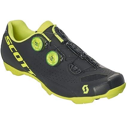 prodotto caldo vendita calda reale nuovi prodotti per Scott MTB RC 2019 - Scarpe da Ciclismo, Colore: Nero/Giallo ...