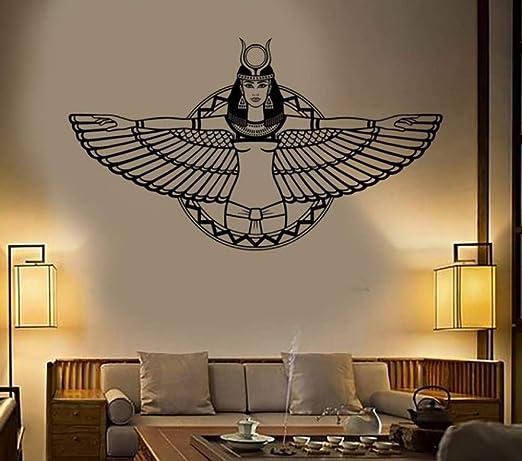 Pegatinas de pared/Vinilo Tatuajes de pared Egipto Antiguo Reina ...