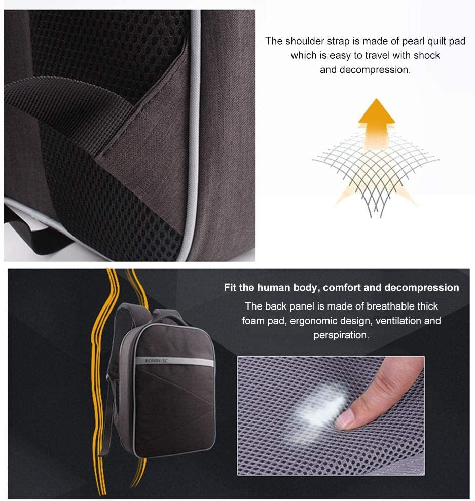 headytidy Handheld PTZ Backpack Triaxial Stabilizer Waterproof Storage Bag for JI Ronin-SC Organizer