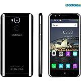 DOOGEE Y6 Piano Schwarzes Smartphone, Android 6.0 Dual Sim Mobiltelefon - 4G Mobiltelefon mit 5,5'' FHD Bildschirm & MT6750 Octa Core 4GB RAM + 64GB ROM 8MP + 13MP Kameralinse- 3200mAh Akku