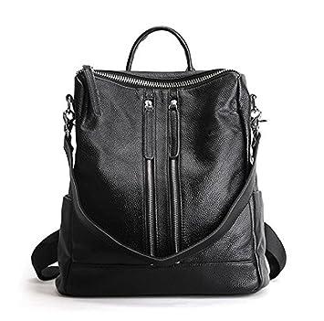 eef7c147e0fc3 Mefly Echtes Leder Rucksack Damen Designer Taschen Hochwertige  Umhängetaschen neue Schultaschen für jugendliche Mädchen Sac A