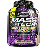 MuscleTech Mt Performance Series Mass Tech Extreme 2000, Vanilla, 7 Pound