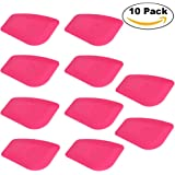 Ehdis Lil Chizler Auto Home Office Window Film Installation Tint Scraper Hand Tool for Vinyl Wraps & Decals - 10 PCS