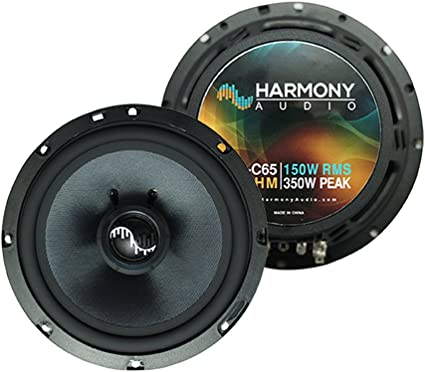 Fits Chrysler Crossfire 2004-2006 Rear Side Panel Speakers Harmony HA-C65 New