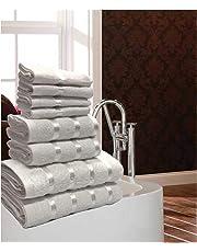 Gaveno Cavailia Luxurious 8 Pack Boston Towel Bale Set