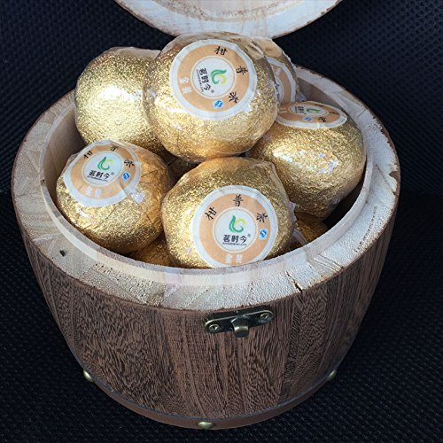 Aseus Orange tea tea, citrus red Pu'er Tea Xinhui tangerine peel tea orange tea 400 grams send large cask by Aseus-Ltd