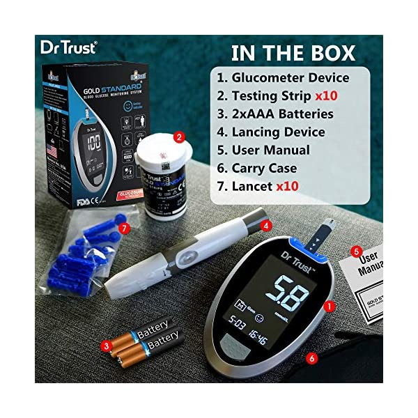 Best Dr Trust Fully Automatic Blood Sugar Testing Machine India