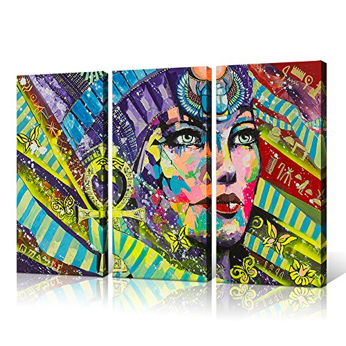 Wall Decor - Beautiful Egyptian Painting Canvas Prints Abstract