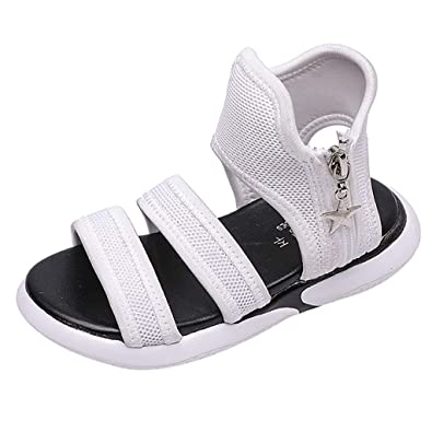 Chaussures Sandales Souple Mn0wonv8 Fille Ado Sport Plates Cuir Go HWID2YE9