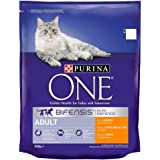 Purina One Adult Cat Chicken and Whole Grains, 800 gm