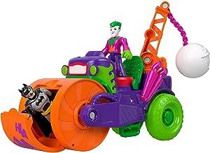 Fisher-Price Imaginext DC Super Friends The Joker Steamroller Vehicle